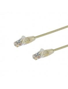 StarTech.com N6PAT50CMGRS verkkokaapeli Harmaa 0.5 m Cat6 U/UTP (UTP) Startech N6PAT50CMGRS - 1