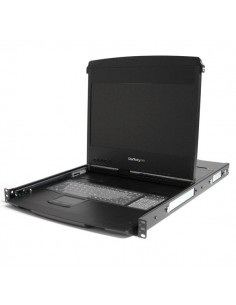 """StarTech.com 1U 17"""" HD 1080p Dual Rail-hyllmonterad LCD-enhet i widescreen Startech RACKCOND1701 - 1"""