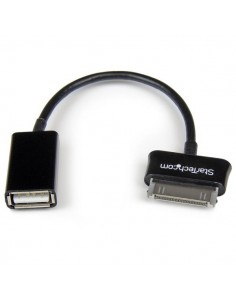 StarTech.com SDCOTG cable gender changer Samsung 30p USB A Musta Startech SDCOTG - 1