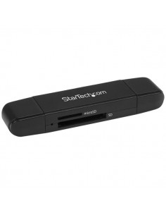 StarTech.com USB 3.0 Memory /Writer for SD and microSD Cards - USB-C USB-A Startech SDMSDRWU3AC - 1