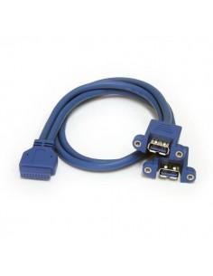 StarTech.com USB3SPNLAFHD cable gender changer 2 x USB A IDC Sininen Startech USB3SPNLAFHD - 1