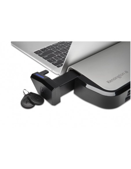 Kensington LD4650P Langallinen USB 3.2 Gen 1 (3.1 1) Type-C Musta, Hopea Kensington K38400EU - 8