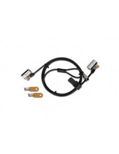 Kensington ClickSafe® Round Keyed Twin Laptop Lock - Single Kensington K64912S - 1