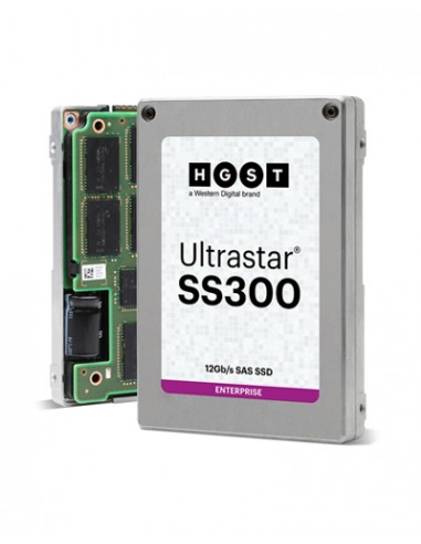 "HGST Ultrastar SS300 2.5"" 1600 GB SAS MLC Western Digital 0B35001 - 1"