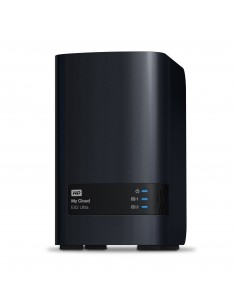 Western Digital My Cloud EX2 Ultra NAS Desktop Ethernet LAN Black Armada 385 Western Digital WDBVBZ0160JCH-EESN - 1