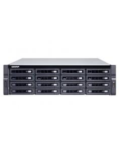 QNAP TS-1677XU-RP NAS Rack (3U) Ethernet LAN Black 2700 Qnap TS1677XURP270016G - 1