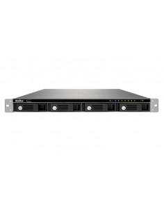 QNAP 1U 4 BAY 12-CH HDMI RPS Lagringsserver Rack (1U) Nätverksansluten (Ethernet) Svart Qnap VS-4112U-RP-PRO+-EU - 1