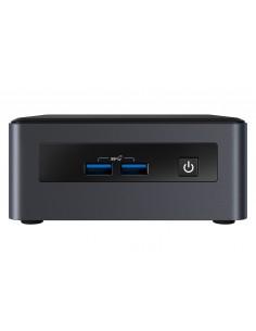 Intel NUC BKNUC8I3PNH barebone-tietokonerunko 0.69L kokoinen PC Musta BGA 1528 i3-8145U 2.1 GHz Intel BKNUC8I3PNH - 1