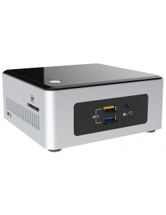 Intel NUC BOXNUC5CPYH barebone-tietokonerunko UCFF Musta, Hopea BGA 1170 N3060 1.6 GHz Intel BOXNUC5CPYH - 1