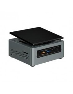 Intel NUC BOXNUC6CAYH barebone-tietokonerunko UCFF Musta, Harmaa BGA 1296 J3455 1.5 GHz Intel BOXNUC6CAYH - 1