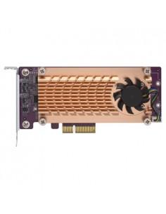 QNAP QM2-2S-220A nätverkskort/adapters Intern M.2 Qnap QM2-2S-220A - 1