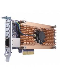 QNAP QM2-2S10G1T liitäntäkortti/-sovitin Sisäinen SATA Qnap QM2-2S10G1T - 1