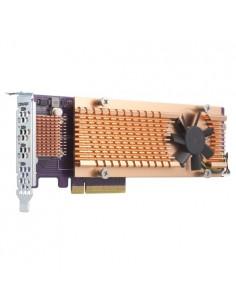 QNAP QM2-4P-384 nätverkskort/adapters Intern PCIe Qnap QM2-4P-384 - 1