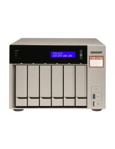 QNAP TVS-673E NAS Tower Ethernet LAN Harmaa RX-421BD Qnap TVS-673E-4G - 1