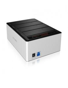 ICY BOX IB-141CL-U3 Gjuten aluminium, Svart Raidsonic Technology Gmbh IB-141CL-U3 - 1