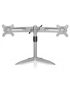 "RaidSonic IB-AC638 monitor mount / stand 61 cm (24"") Freestanding Silver Raidsonic Technology Gmbh IB-AC638 - 1"