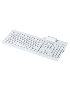Fujitsu KB SCR2 keyboard USB QWERTY Finnish, Swedish Grey Fujitsu Technology Solutions S26381-K538-L155 - 1