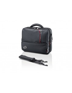 "Fujitsu Prestige case Mini 13 notebook 33 cm (13"") Briefcase Black Fujitsu Technology Solutions S26391-F1192-L151 - 1"