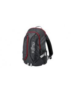 """Fujitsu Sportive Backpack 15 laukku kannettavalle tietokoneelle 39.6 cm (15.6"""") Reppu Musta, Punainen Fujitsu Technology Solutio"""