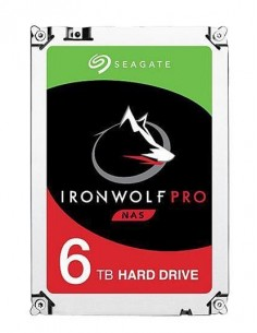 """Seagate IronWolf Pro ST6000NE000 sisäinen kiintolevy 3.5"""" 6000 GB Serial ATA III Seagate ST6000NE000 - 1"""
