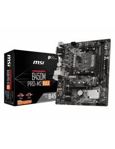MSI B450M PRO-M2 MAX motherboard AMD B450 Socket AM4 micro ATX Msi B450M PRO-M2 MAX - 1