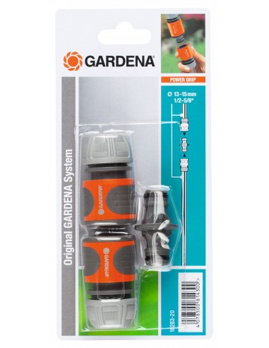 Gardena 18283-20 vesiputkien osa Letkun välikappale Harmaa, Oranssi, Hopea 1 kpl Gardena 18283-20 - 1