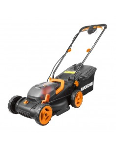 WORX WG779E lawn mower Push Battery Black, Orange Worx WG779E - 1