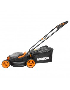 WORX WG779E.1 Motorgräsklippare Batteri Svart, Orange Worx WG779E.1 - 1