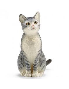 Schleich Farm Life Cat, sitting Schleich 13771 - 1