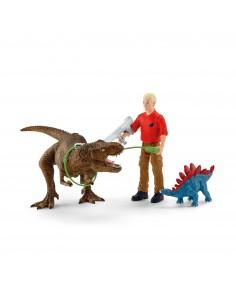 Schleich Dinosaurs Tyrannosaurus Rex Angriff Schleich 41465 - 1