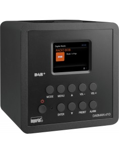 Telestar DABMAN d10 Kannettava Analoginen & digitaalinen Musta Imperial 22-271-00 - 1
