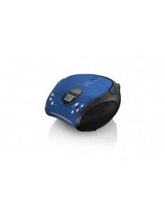Lenco SCD-24 Digitaalinen Musta, Sininen Lenco SCD24BL/SW - 1