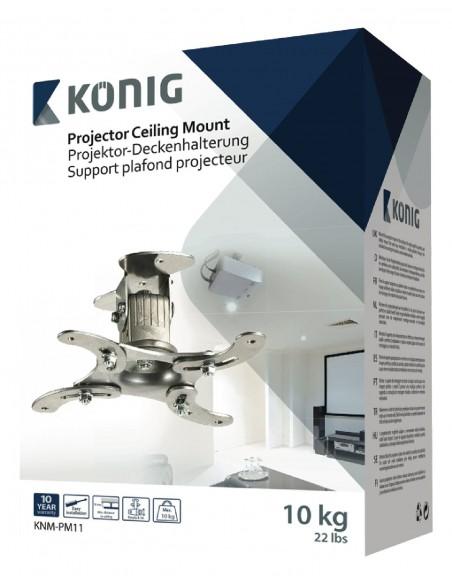 König KNM-PM11 projektorin kiinnike Katto/seinä Hopea König KNM-PM11 - 9