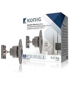 König KNM-SM10 högtalarmontering Vägg Metall Grå König KNM-SM10 - 1