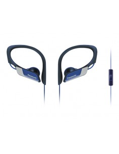 Panasonic RP-HS35ME-A hörlur och headset Öronkrok, I öra 3.5 mm kontakt Svart, Blå Panasonic RP-HS35ME-A - 1