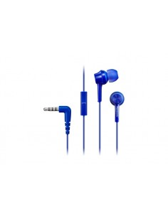 Panasonic RP-TCM115E Headset In-ear 3.5 mm connector Blue Panasonic RP-TCM115E-A - 1