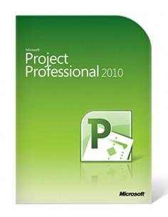 Microsoft Project Professional 2010 1 license(s) Multilingual Microsoft H30-03425 - 1