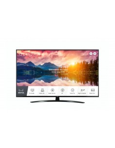 "LG 65UT661H infonäyttö Digitaalinen litteä infotaulu 165.1 cm (65"") LED 4K Ultra HD Musta Web OS Lg 65UT661H0ZB - 1"