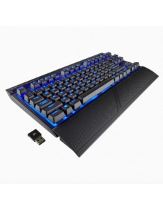 Corsair K63 näppäimistö USB + Bluetooth QWERTY Musta Corsair CH-9145030-ND - 1
