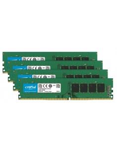 Crucial CT4K16G4DFD824A muistimoduuli 64 GB 4 x 16 DDR4 2400 MHz Crucial Technology CT4K16G4DFD824A - 1