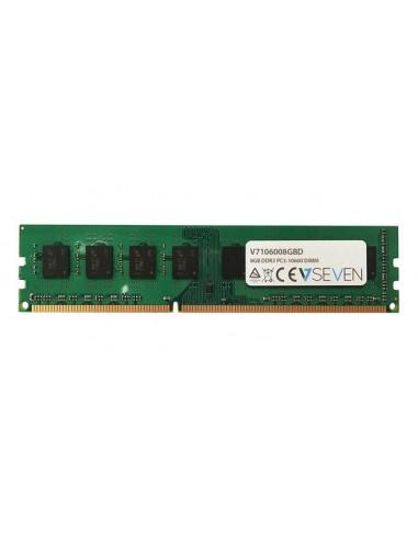 V7 V7106008GBD muistimoduuli 8 GB 1 x DDR3 1333 MHz V7 Ingram Micro V7106008GBD - 1