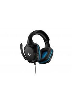 Logitech G G432 Kuulokkeet Pääpanta Musta, Sininen Logitech 981-000770 - 1