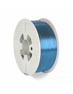 Verbatim 3d Printer Filament Pet-g 1.75mm 1kg Blue Trans Verbatim 55056 - 1