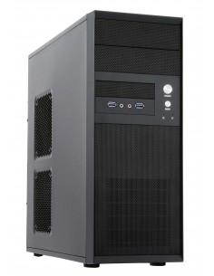 Chieftec CQ-01B-U3-OP tietokonekotelo MIDI-torni Musta Chieftec CQ-01B-U3-OP - 1