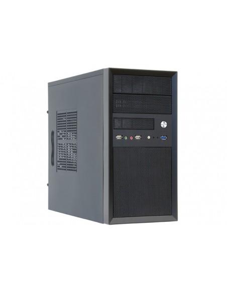 Chieftec CT-01B-350GPB tietokonekotelo Mini Tower Musta 350 W Chieftec CT-01B-350GPB - 4