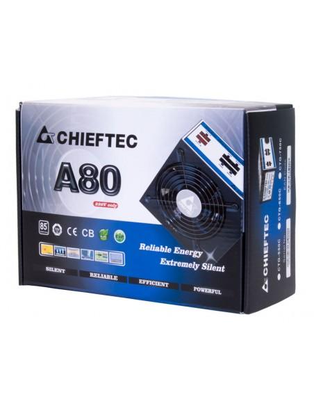 Chieftec CTG-650C virtalähdeyksikkö 650 W 24-pin ATX Musta Chieftec CTG-650C - 2