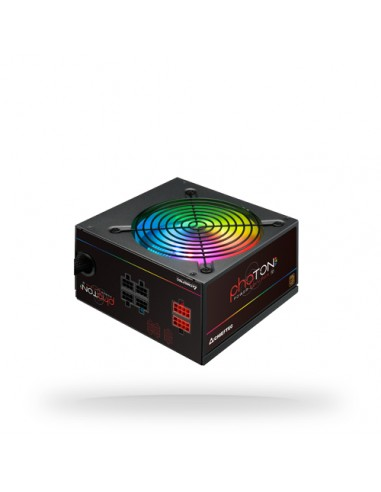 Chieftec Photon virtalähdeyksikkö 650 W 24-pin ATX PS/2 Musta Chieftec CTG-650C-RGB - 1