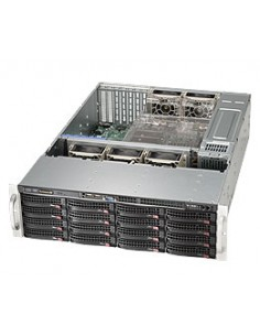 Supermicro SC836BE16-R920B Teline Musta 920 W Supermicro CSE-836BE16-R920B - 1