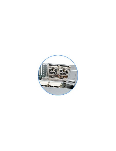 Supermicro SC836BE16-R920B Teline Musta 920 W Supermicro CSE-836BE16-R920B - 2