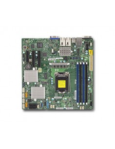 Supermicro X11SSH-CTF palvelimen/työaseman emolevy Intel® C236 LGA 1151 (pistoke H4) mikro ATX Supermicro MBD-X11SSH-CTF-O - 1